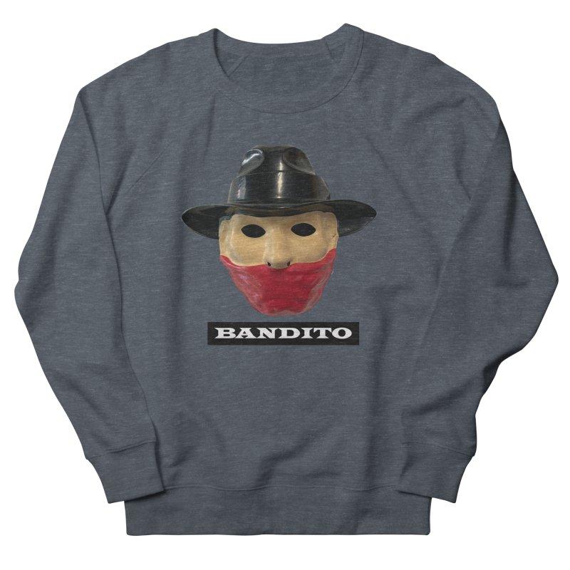 Bandito Men's French Terry Sweatshirt by Toban Nichols Studio