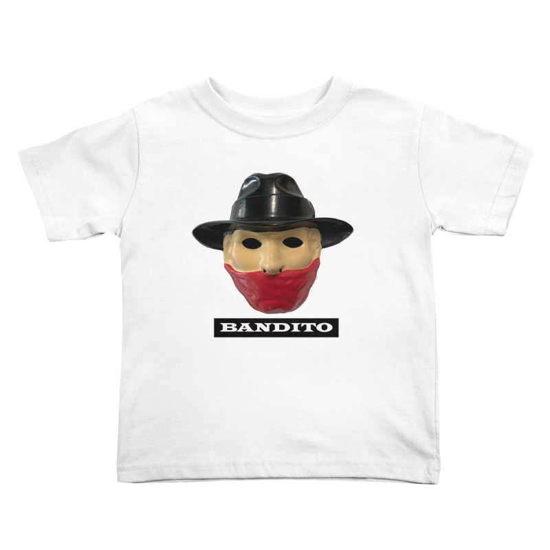 Bandito Kids Toddler T-Shirt by Toban Nichols Studio