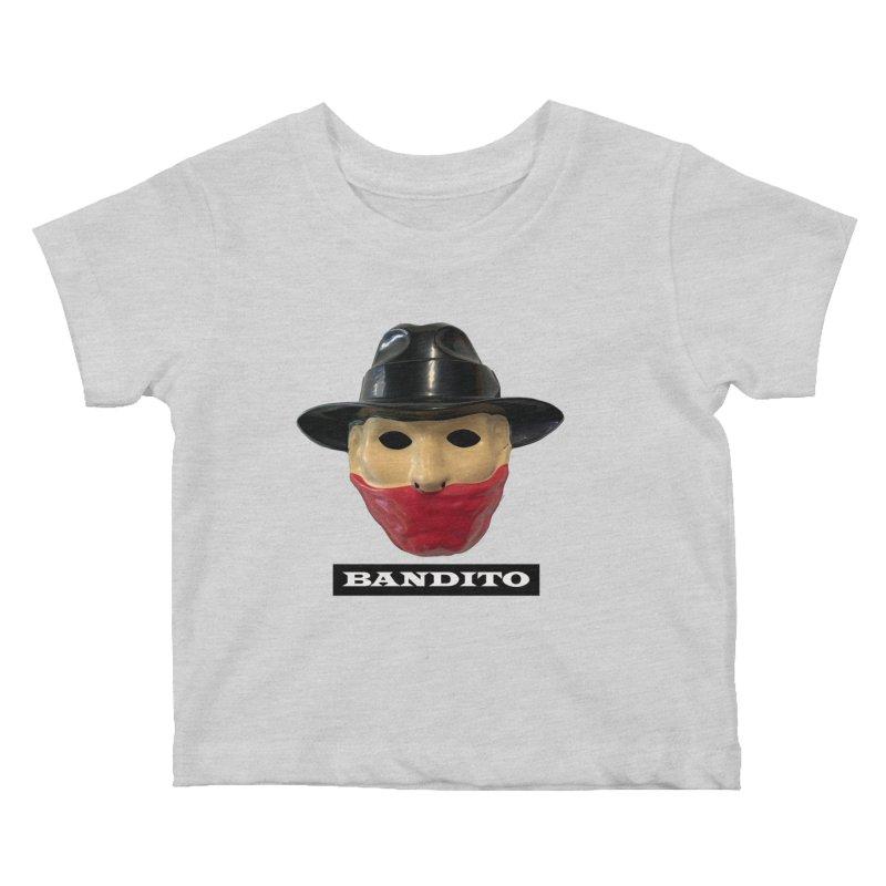 Bandito Kids Baby T-Shirt by Toban Nichols Studio