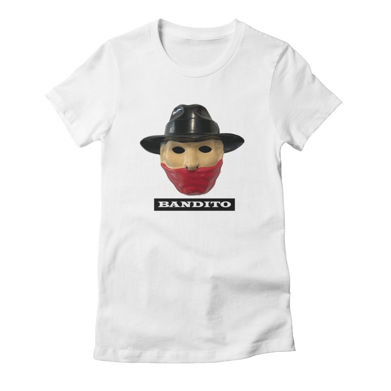 Bandito Women's Fitted T-Shirt by Toban Nichols Studio