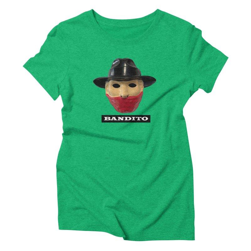Bandito Women's Triblend T-Shirt by Toban Nichols Studio