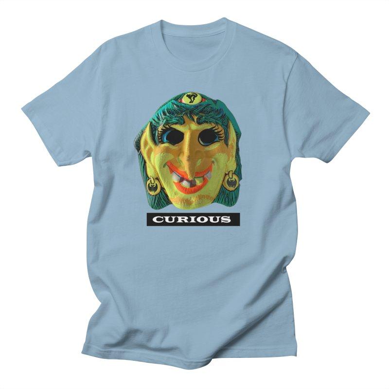 Curious Men's Regular T-Shirt by Toban Nichols Studio