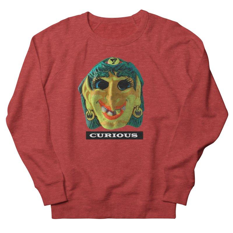 Curious Women's French Terry Sweatshirt by Toban Nichols Studio