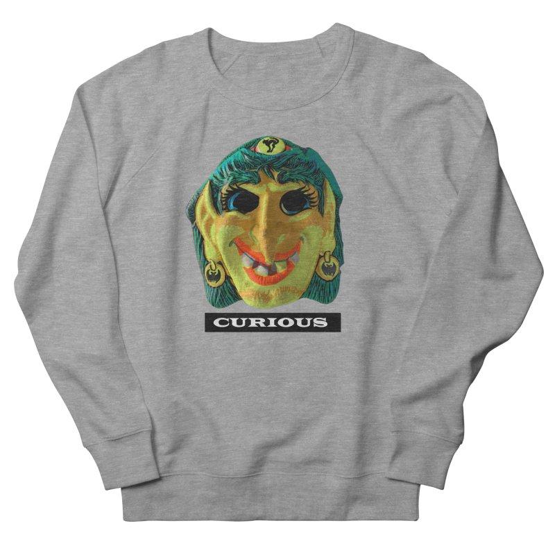 Curious Men's French Terry Sweatshirt by Toban Nichols Studio
