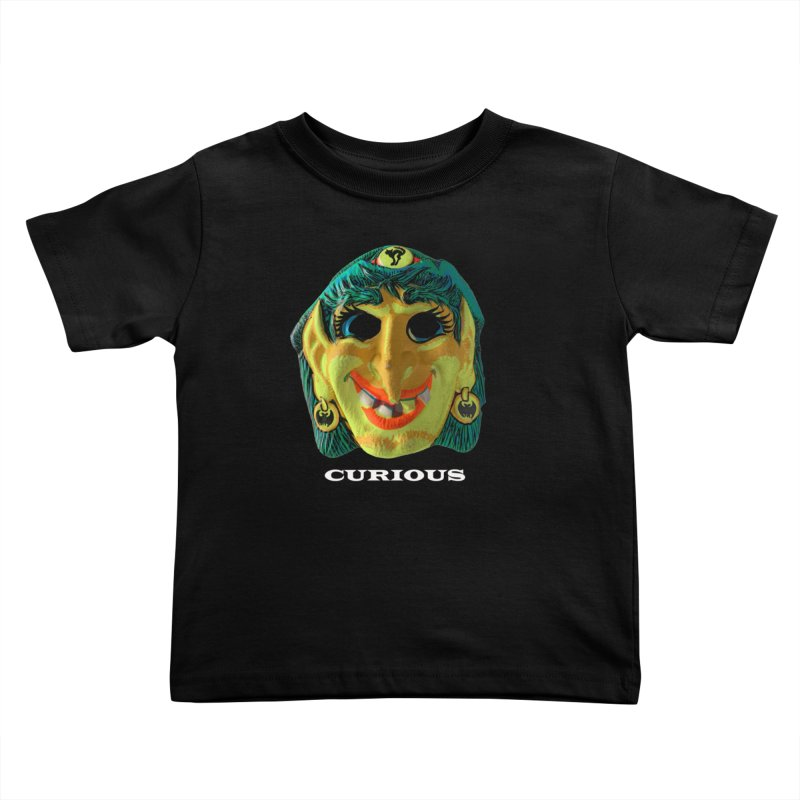 Curious Kids Toddler T-Shirt by Toban Nichols Studio