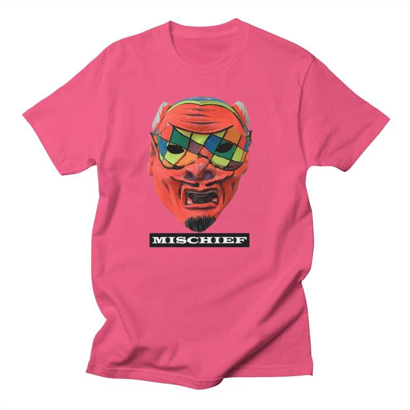 Mischief Men's Regular T-Shirt by Toban Nichols Studio