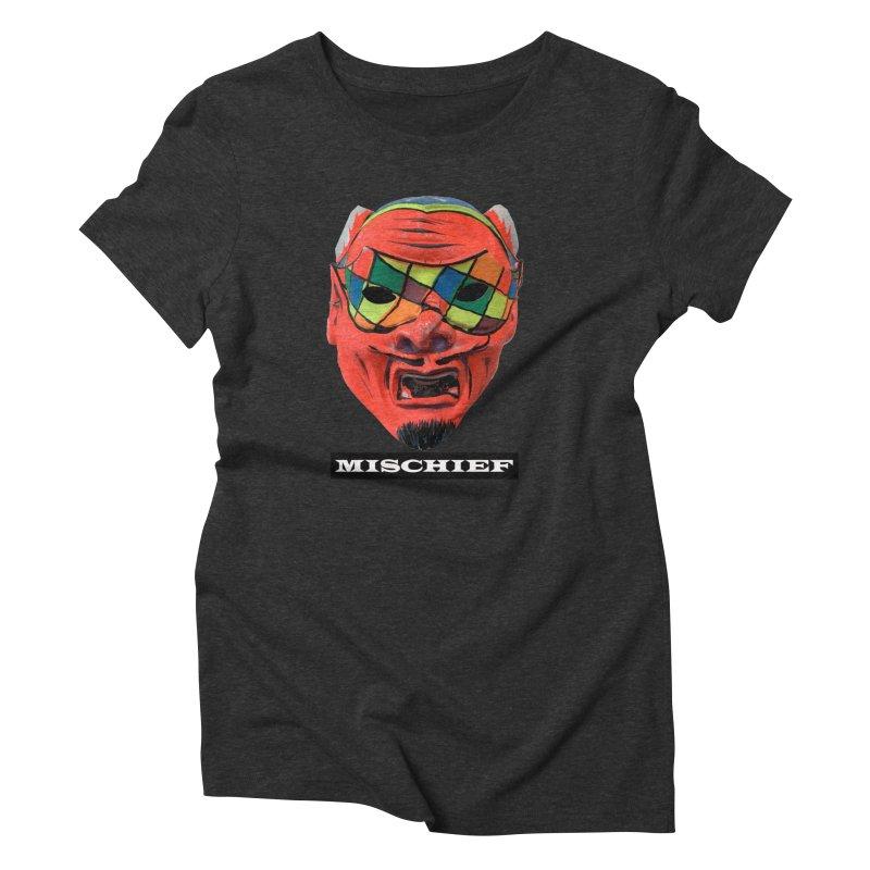 Mischief Women's Triblend T-Shirt by Toban Nichols Studio