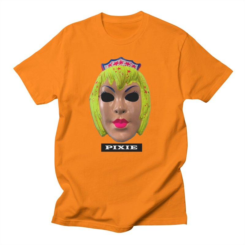 Pixie Men's Regular T-Shirt by Toban Nichols Studio