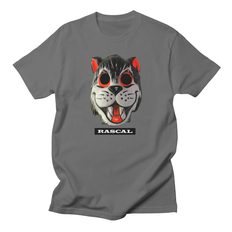 Rascal in Men's Regular T-Shirt Asphalt by Toban Nichols Studio