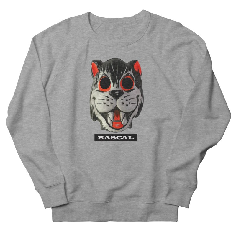 Rascal Men's French Terry Sweatshirt by Toban Nichols Studio
