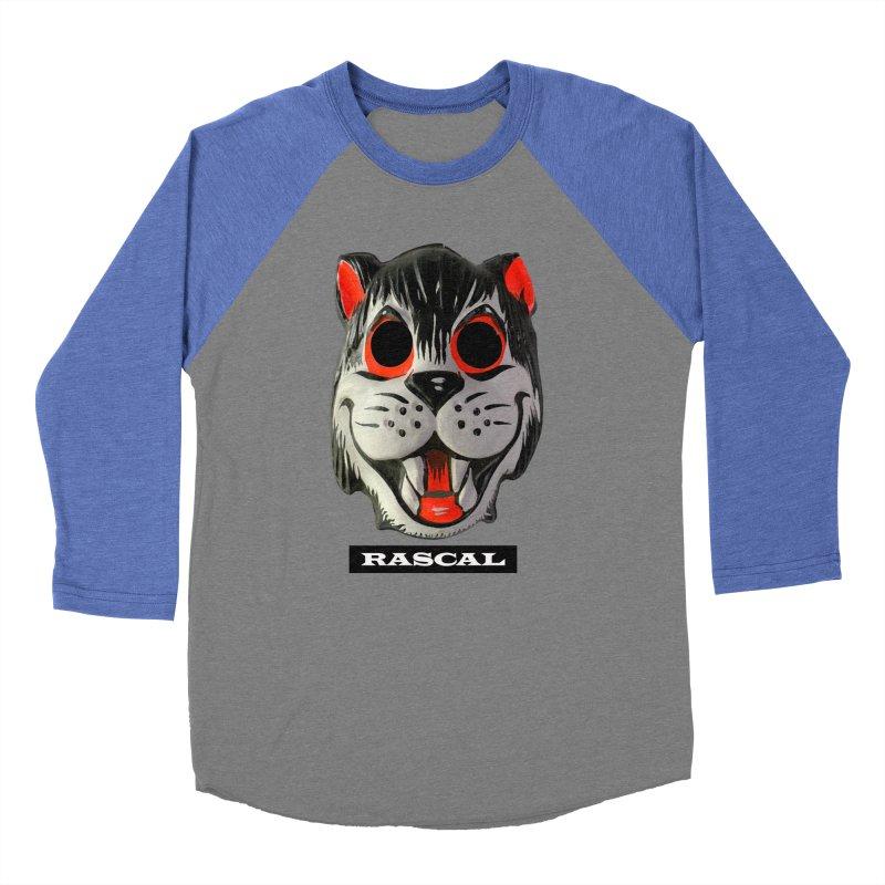 Rascal Men's Baseball Triblend Longsleeve T-Shirt by Toban Nichols Studio