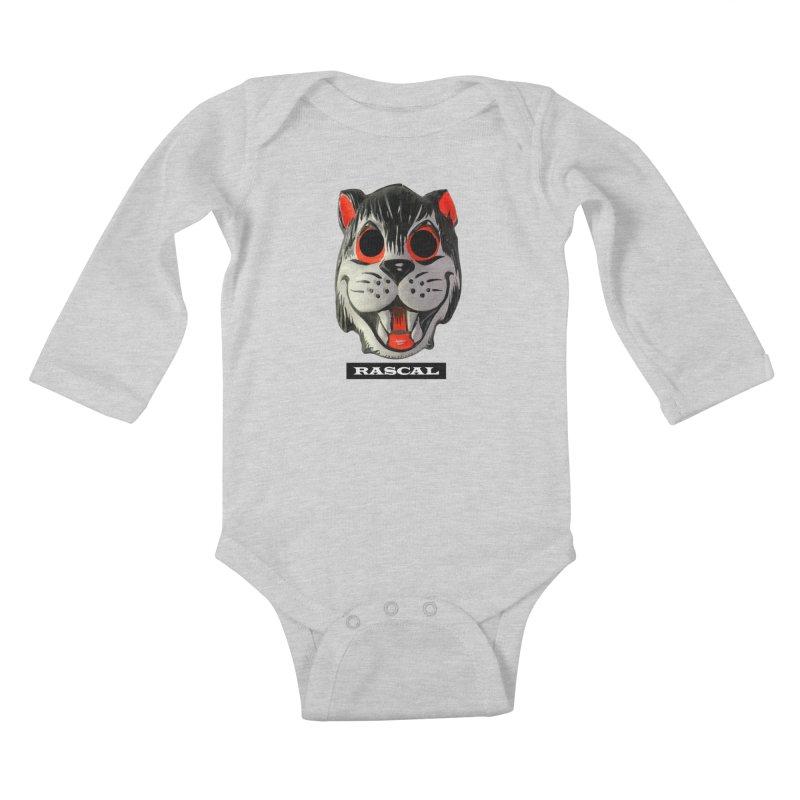 Rascal Kids Baby Longsleeve Bodysuit by Toban Nichols Studio
