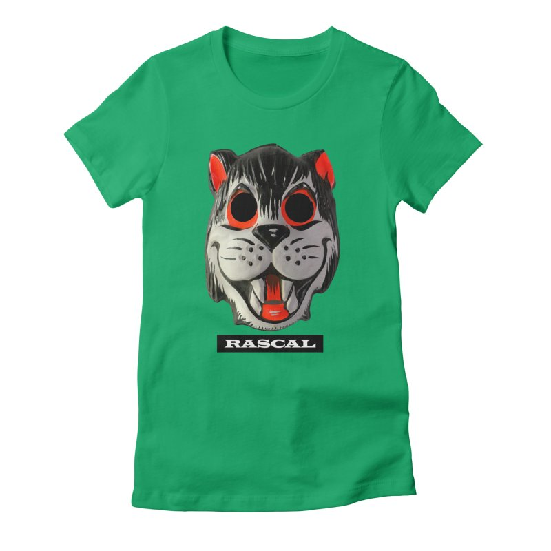 Rascal Women's Fitted T-Shirt by Toban Nichols Studio