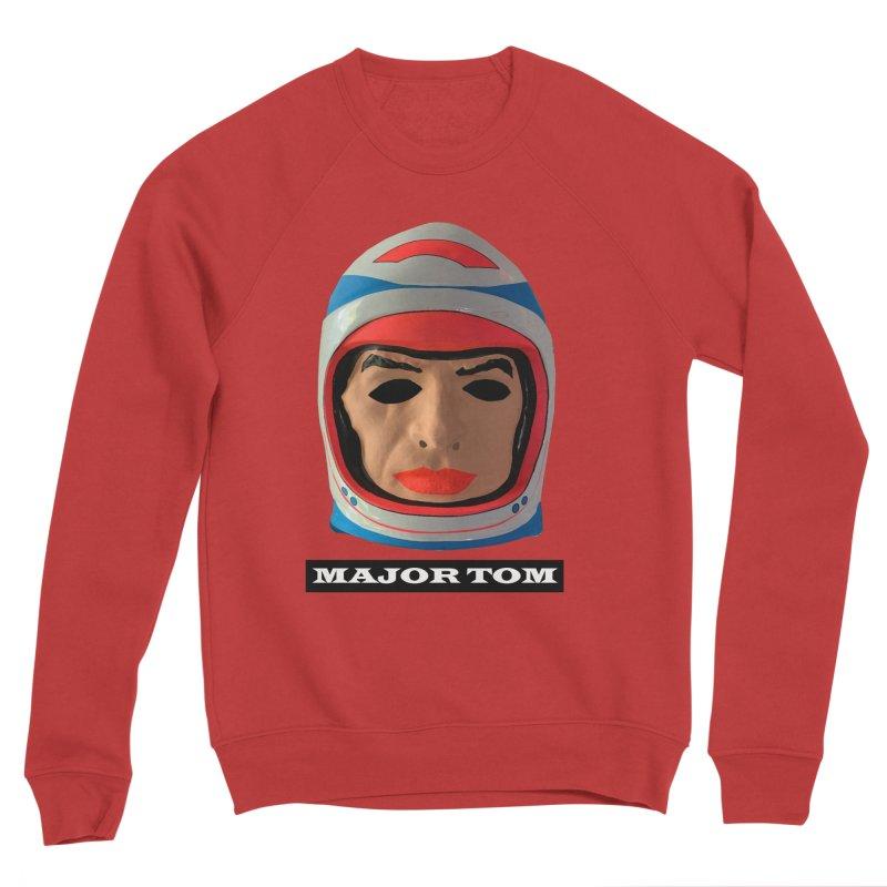 Major Tom Men's Sponge Fleece Sweatshirt by Toban Nichols Studio