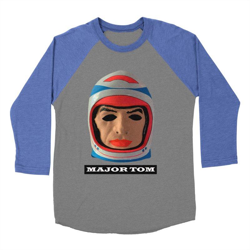 Major Tom Women's Baseball Triblend Longsleeve T-Shirt by Toban Nichols Studio