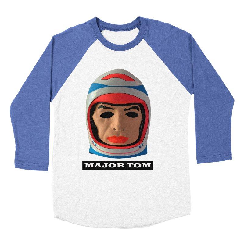Major Tom Men's Baseball Triblend Longsleeve T-Shirt by Toban Nichols Studio