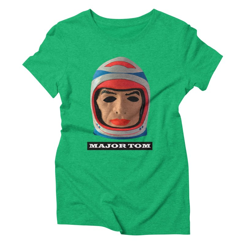 Major Tom Women's Triblend T-Shirt by Toban Nichols Studio