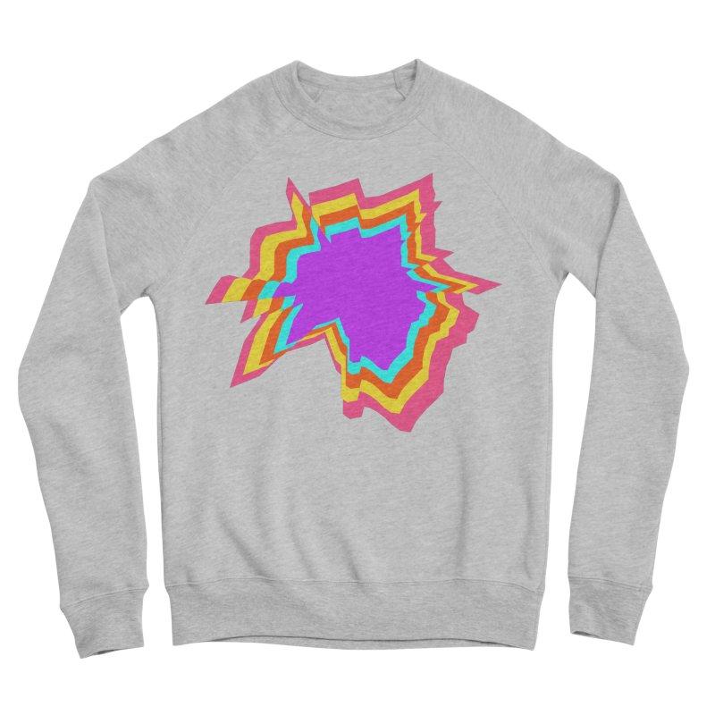 Punk hair Men's Sponge Fleece Sweatshirt by Toban Nichols Studio