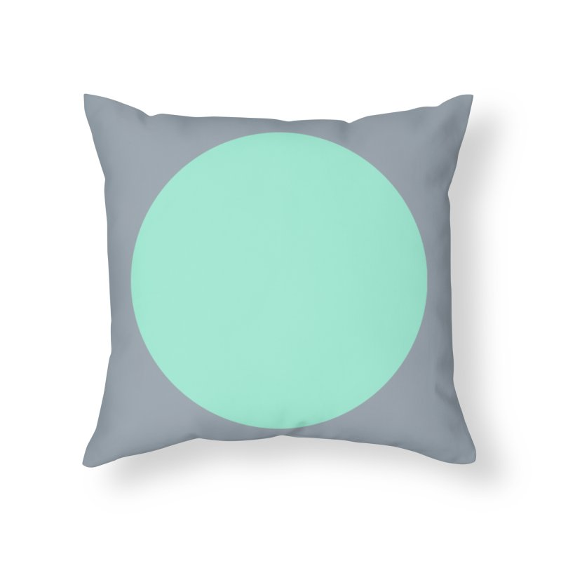 The Full Circle Home Throw Pillow by Toban Nichols Studio