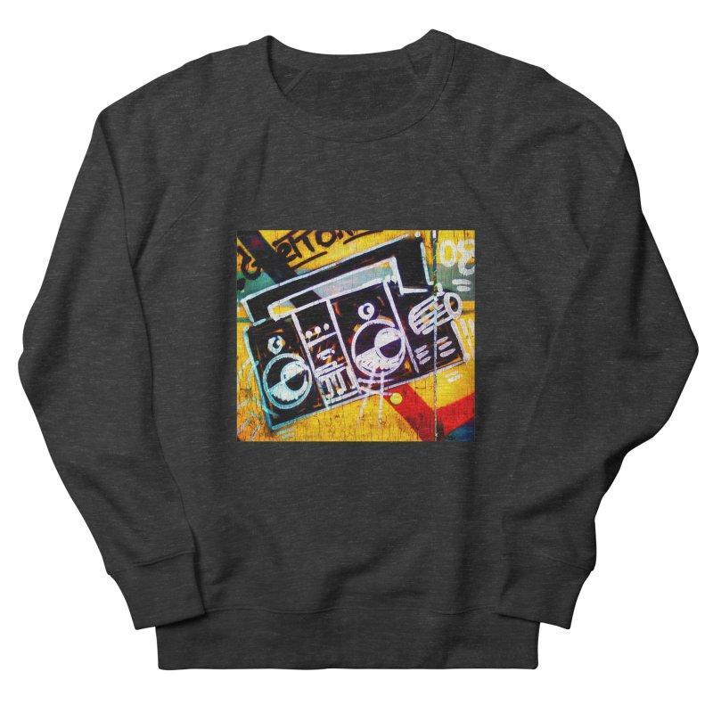 Blaster  Women's French Terry Sweatshirt by Toban Nichols Studio