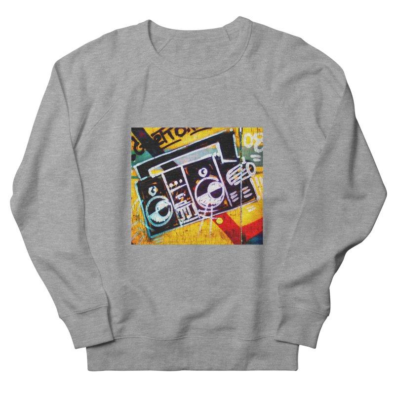 Blaster  Men's French Terry Sweatshirt by Toban Nichols Studio
