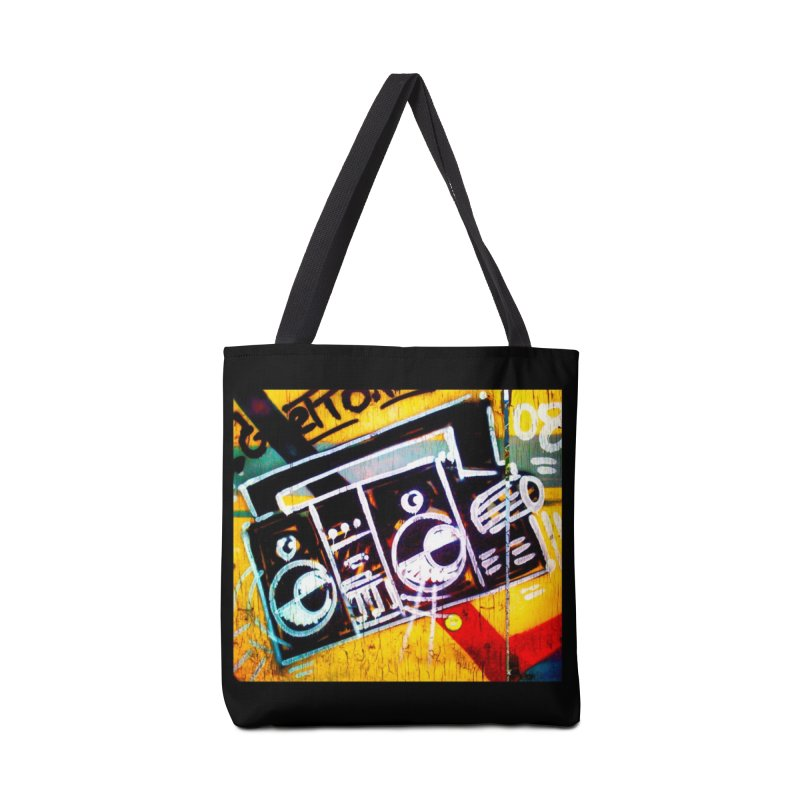 Blaster  Accessories Tote Bag Bag by Toban Nichols Studio