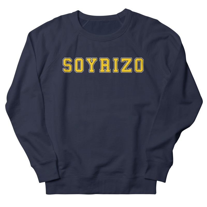 Soyrizo Men's French Terry Sweatshirt by Toban Nichols Studio