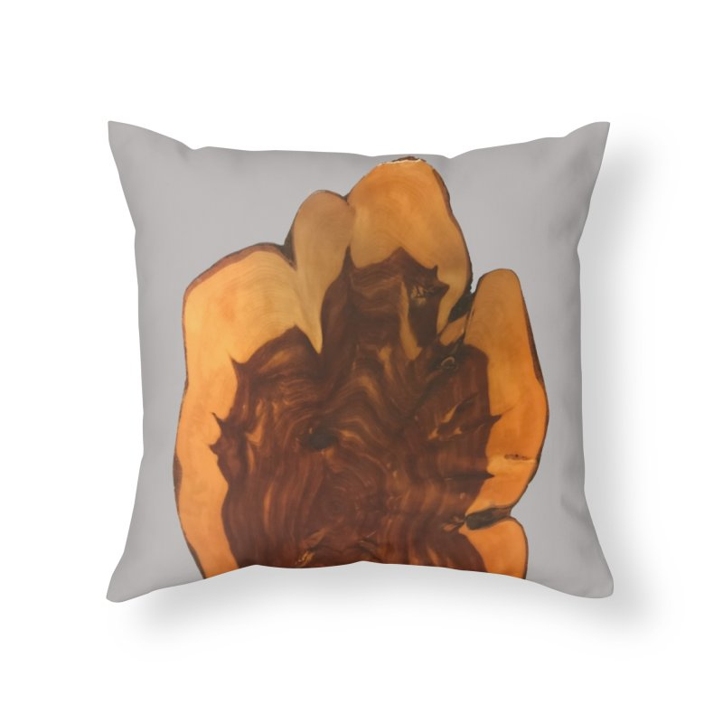 Right Wood Home Throw Pillow by Toban Nichols Studio