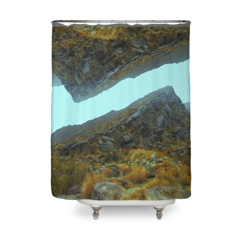 Anyone Out There Home Shower Curtain by Toban Nichols Studio