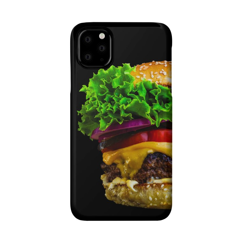 Burgershirt Accessories Phone Case by Toban Nichols Studio