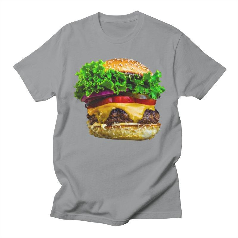 Burgershirt Men's Regular T-Shirt by Toban Nichols Studio