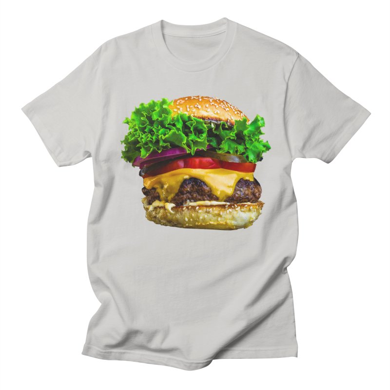 Burgershirt Men's Regular T-Shirt by Toban Nichols Studio