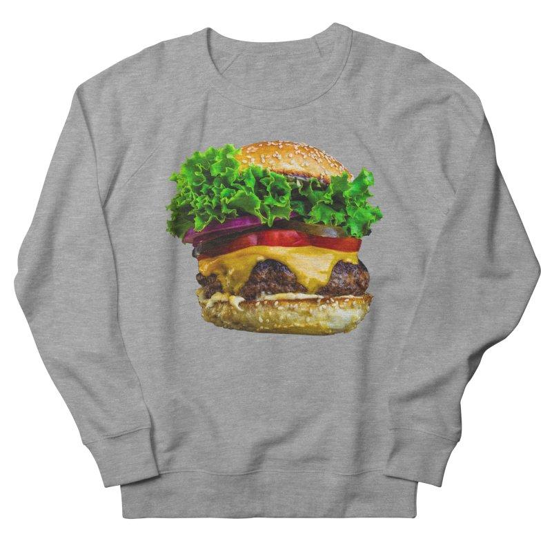Burgershirt Men's French Terry Sweatshirt by Toban Nichols Studio
