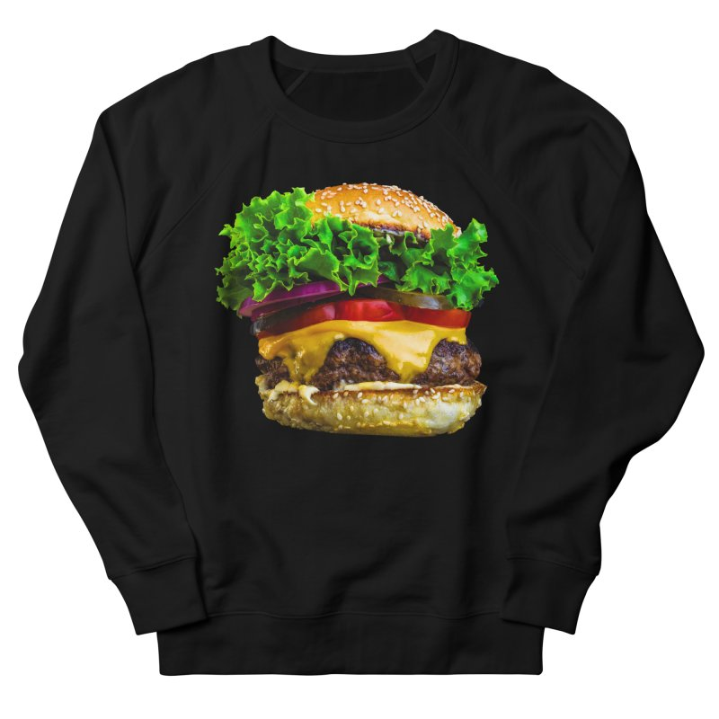 Burgershirt Men's French Terry Sweatshirt by Toban Nichols Studio