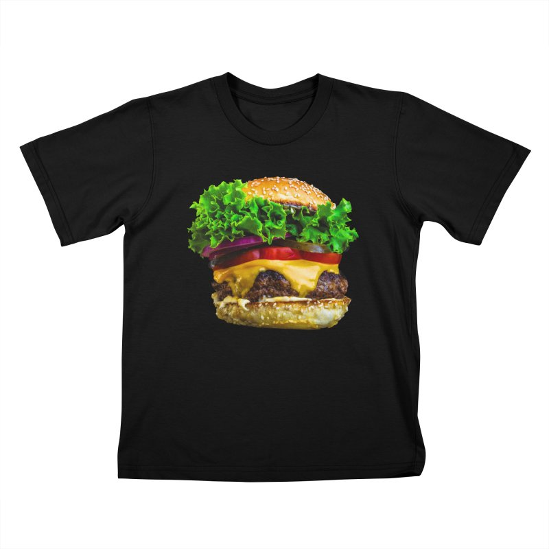 Burgershirt Kids T-Shirt by Toban Nichols Studio