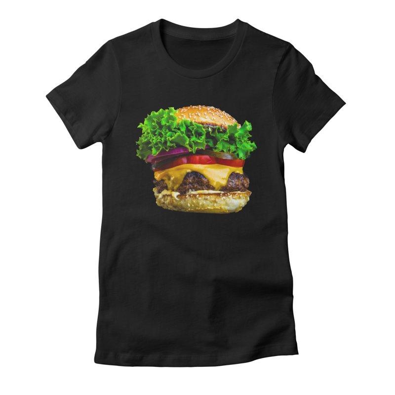 Burgershirt Women's T-Shirt by Toban Nichols Studio
