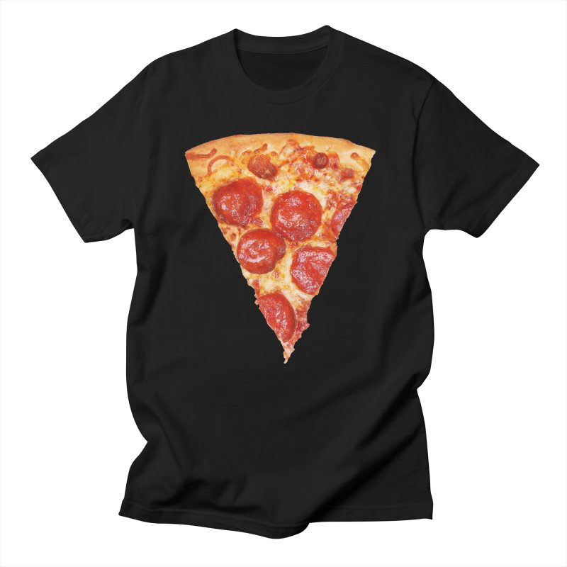 'Za in Men's Regular T-Shirt Black by Toban Nichols Studio