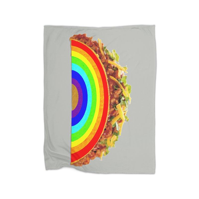 Tacobow Home Fleece Blanket Blanket by Toban Nichols Studio