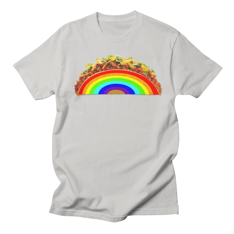 Tacobow in Men's Regular T-Shirt Stone by Toban Nichols Studio