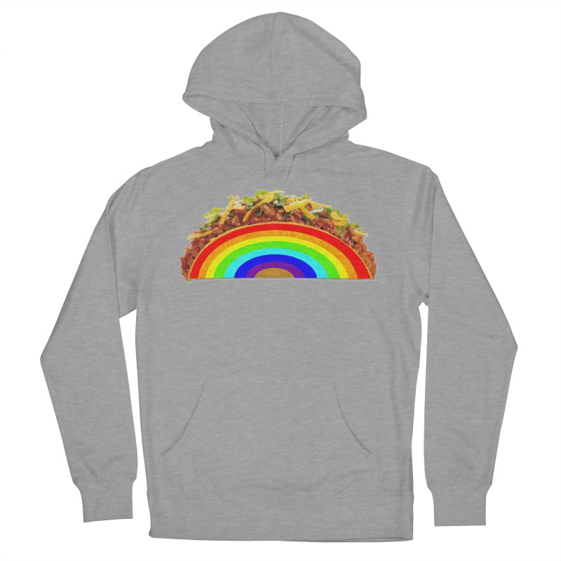 Tacobow Men's French Terry Pullover Hoody by Toban Nichols Studio
