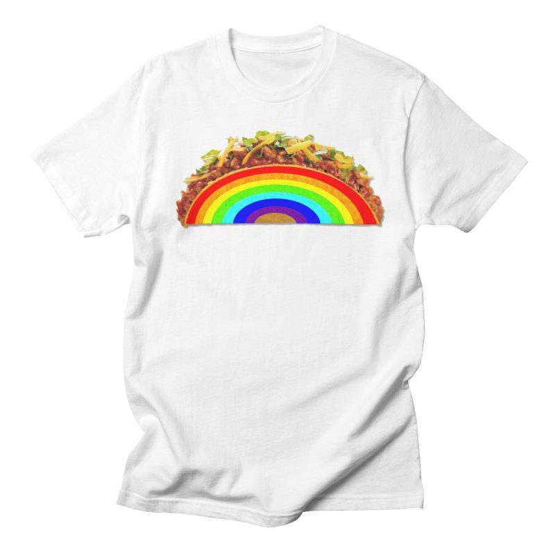 Tacobow Men's Regular T-Shirt by Toban Nichols Studio