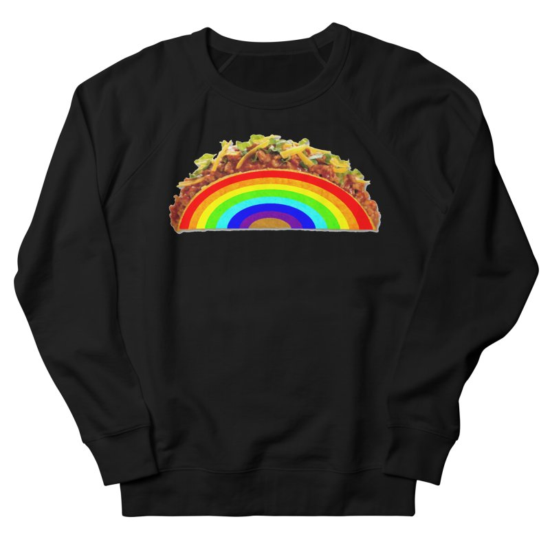 Tacobow Men's French Terry Sweatshirt by Toban Nichols Studio