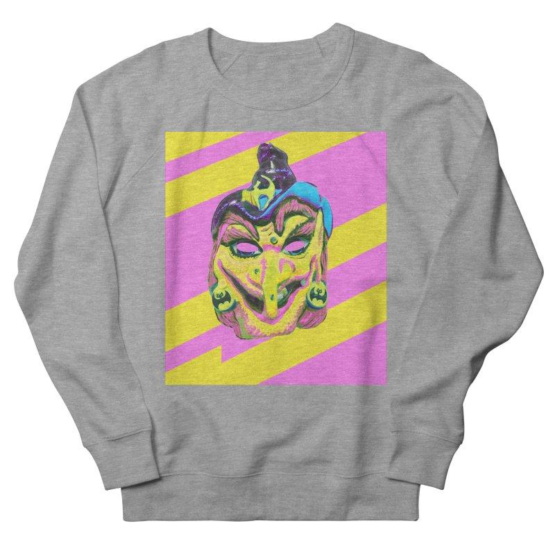 Witchface Men's French Terry Sweatshirt by Toban Nichols Studio