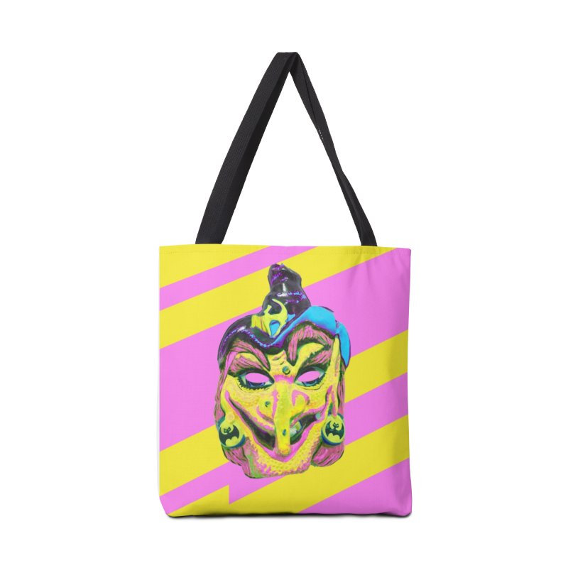 Witchface Accessories Tote Bag Bag by Toban Nichols Studio