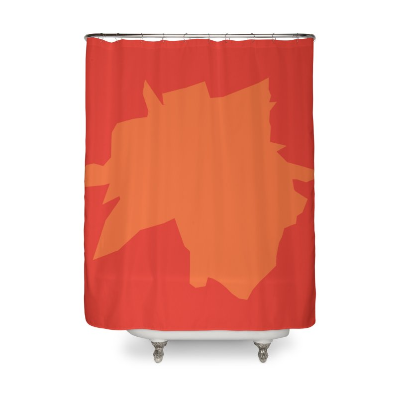 Punk Hair Home Shower Curtain by Toban Nichols Studio