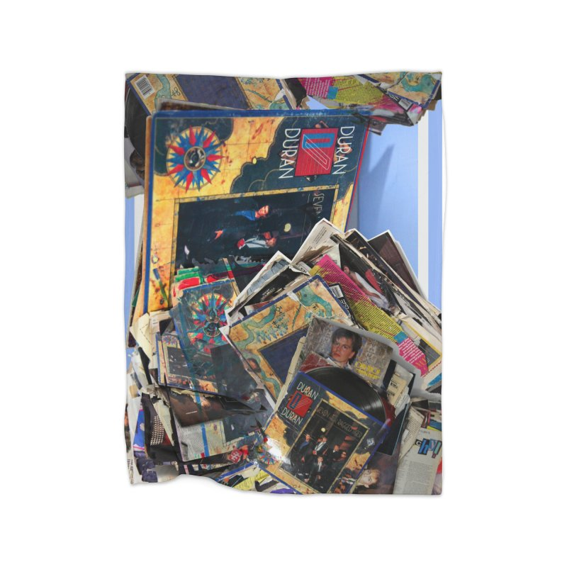 Duranduran Home Fleece Blanket Blanket by Toban Nichols Studio
