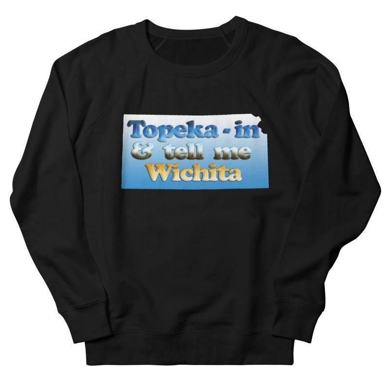 Dad jokes- Kansas edition Women's French Terry Sweatshirt by Toban Nichols Studio