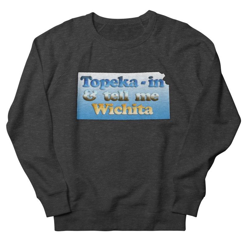 Dad jokes- Kansas edition Men's French Terry Sweatshirt by Toban Nichols Studio