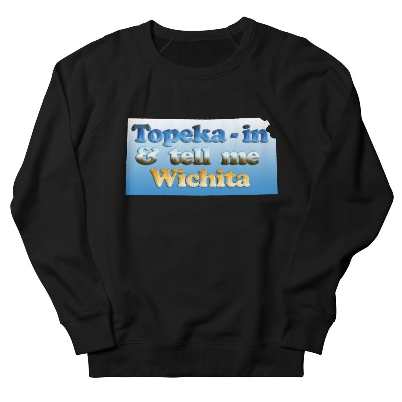 Dad jokes- Kansas edition Men's French Terry Sweatshirt by Toban Nichols Studio