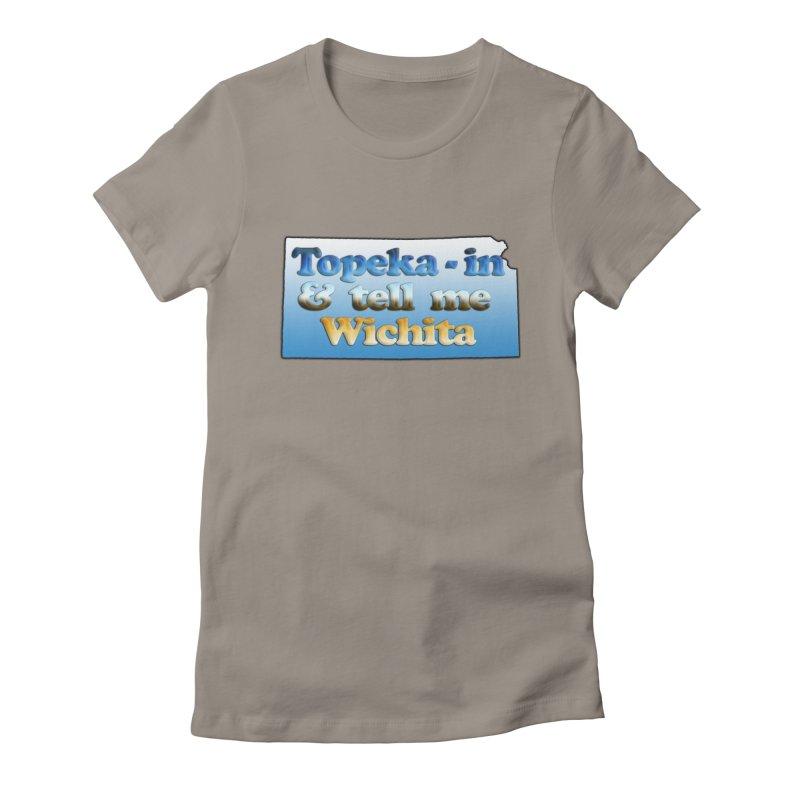 Dad jokes- Kansas edition Women's T-Shirt by Toban Nichols Studio